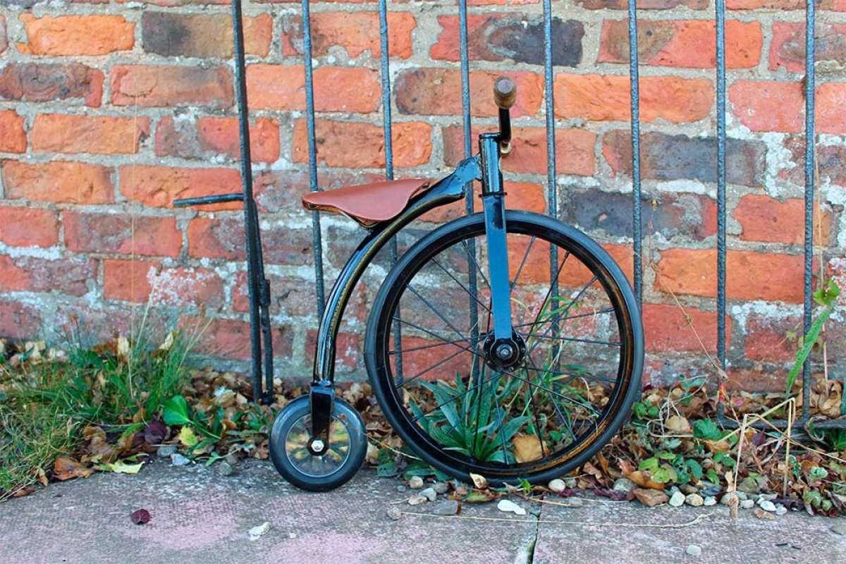 Richards of England lanza al mercado un original biciclo de rueda alta para los más pequeños de la casa