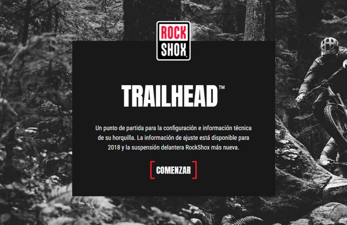 RockShox Trailhead, una práctica utilidad para ajustar las suspensiones de la marca