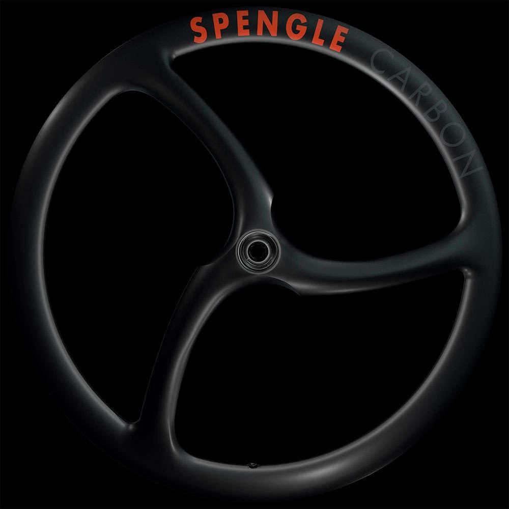 En TodoMountainBike: Brutal diseño de tres radios integrados para las ruedas Spengle Carbon