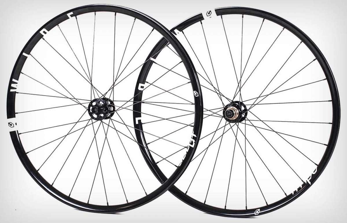 TFHPC introduce las ruedas Wide y Grinder para bicicletas de XC y Gravel