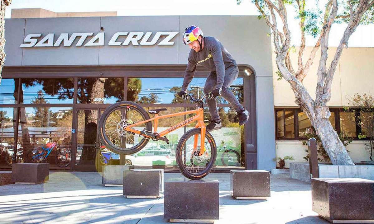 Así es la recién estrenada Santa Cruz Trial Bike de Danny MacAskill, completamente fabricada en carbono