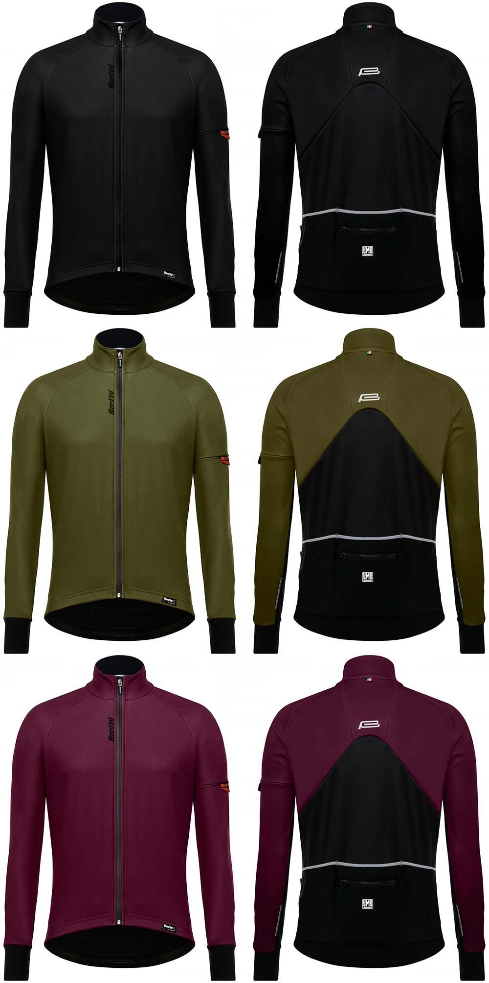 En TodoMountainBike: Santini Beta Winter, una chaqueta invernal todo-en-uno que protege del frío, de la lluvia y del viento