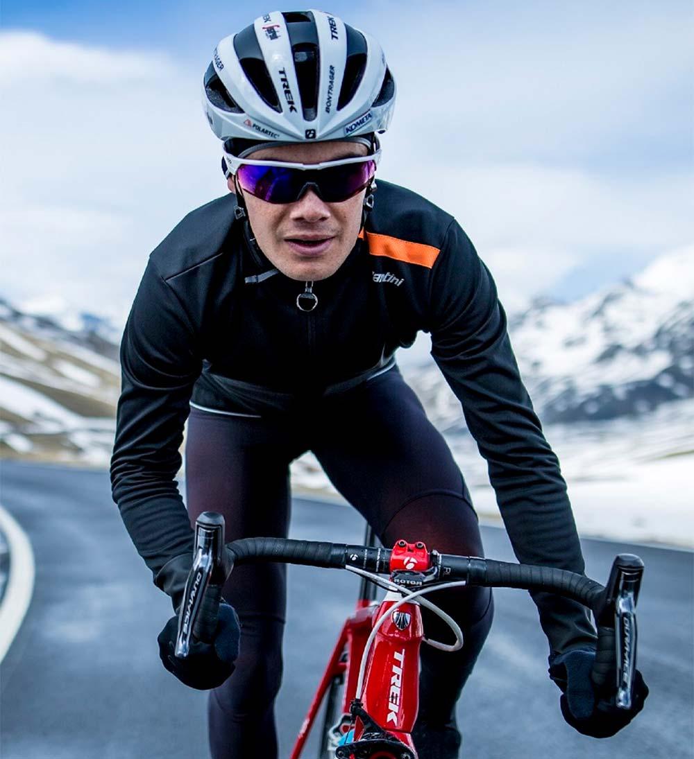 Santini Vega Xtreme, la chaqueta para ciclistas que protege del frío, del viento y de la lluvia