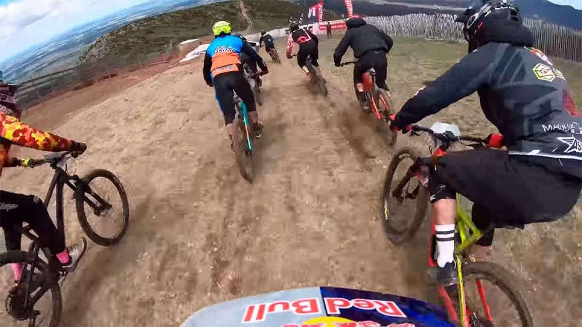 La Avalancha del Red Bull Holy Bike 2018 desde la bicicleta de Sergio Layos