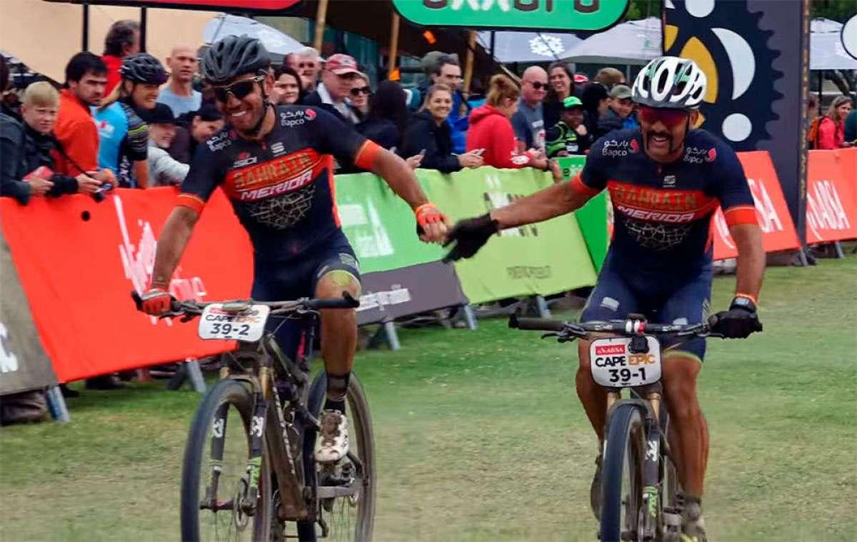 En TodoMountainBike: La sexta etapa de la Absa Cape Epic 2018 con José Antonio Hermida y Joaquim 'Purito' Rodríguez (Merida Factory Racing Team)