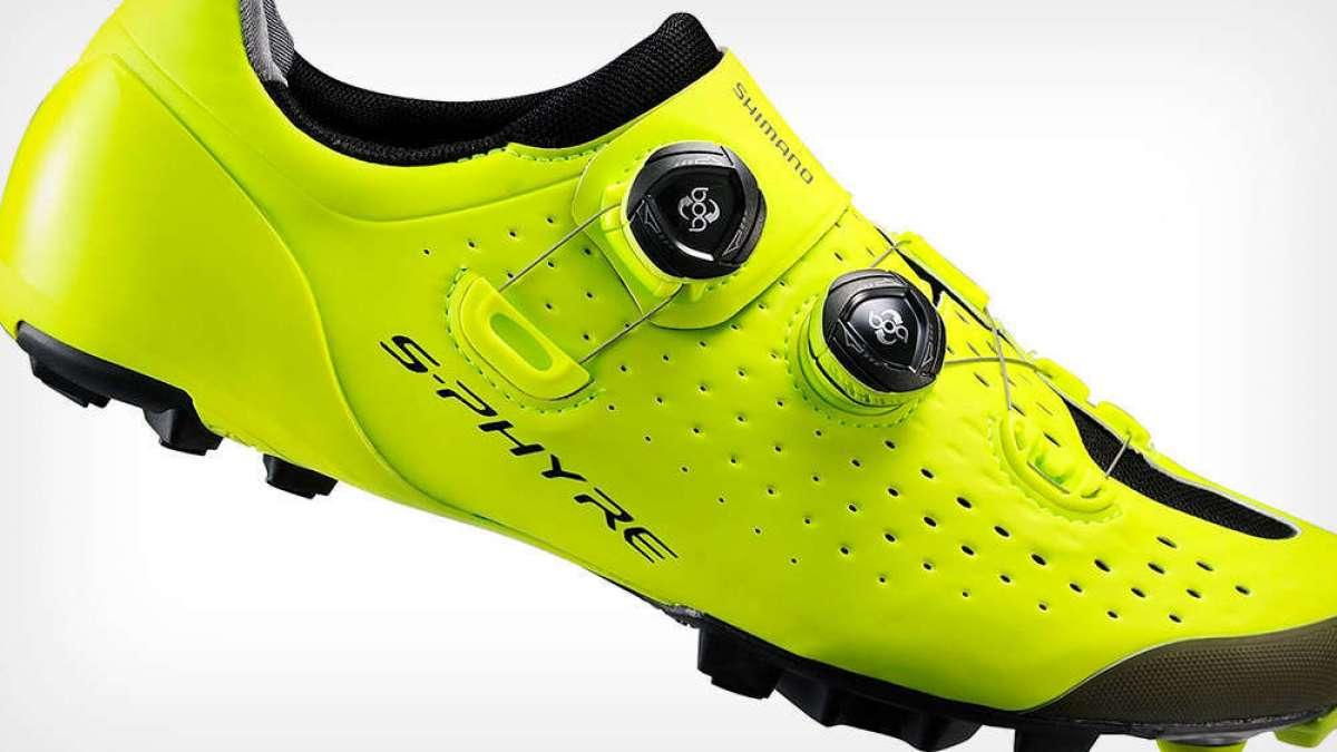 Shimano renueva las S-Phyre SH-XC900, sus zapatillas más avanzadas para ciclistas de XC, Gravel y Ciclocross