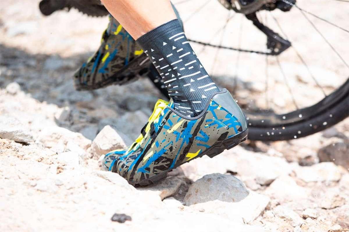 Edición limitada con estética de camuflaje para las zapatillas Shimano XC5