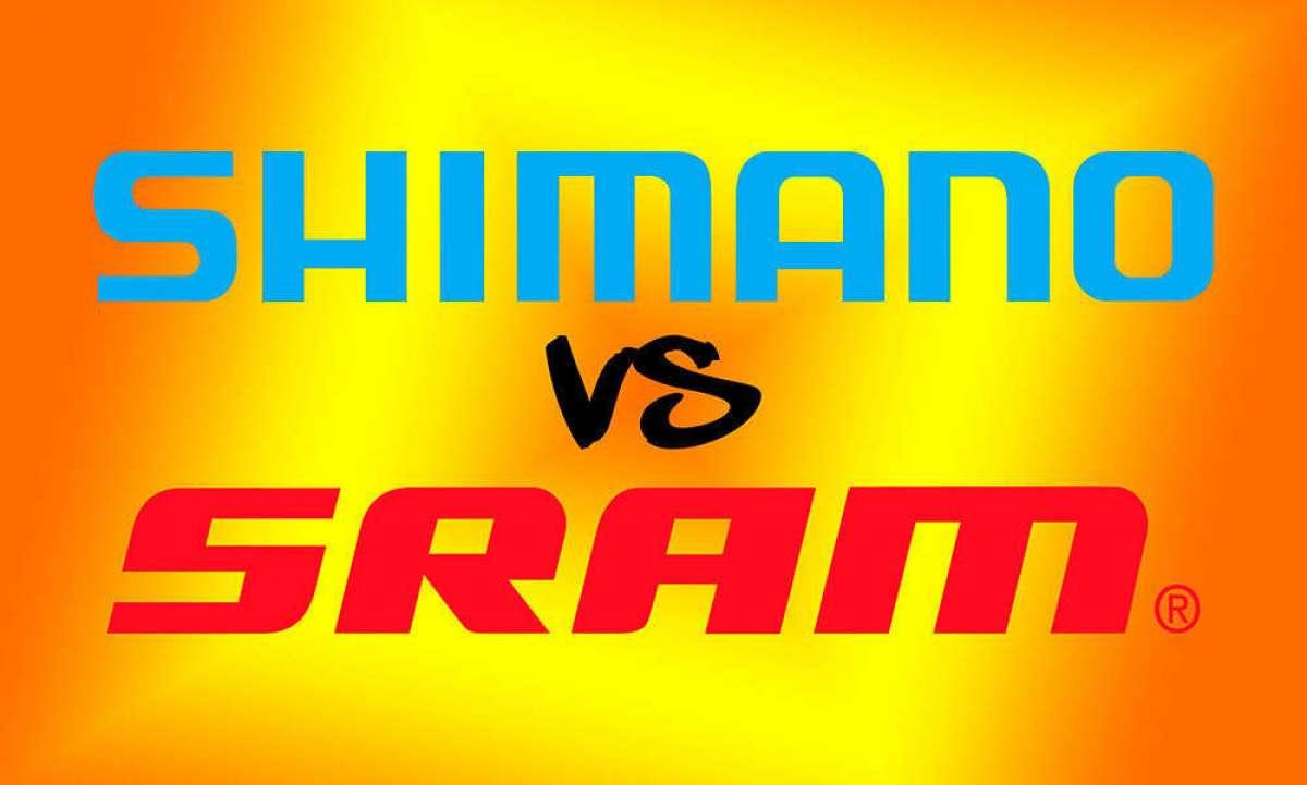 En TodoMountainBike: Shimano XTR de 12 velocidades y SRAM XX1 Eagle electrónico, las dos grandes novedades que están por venir