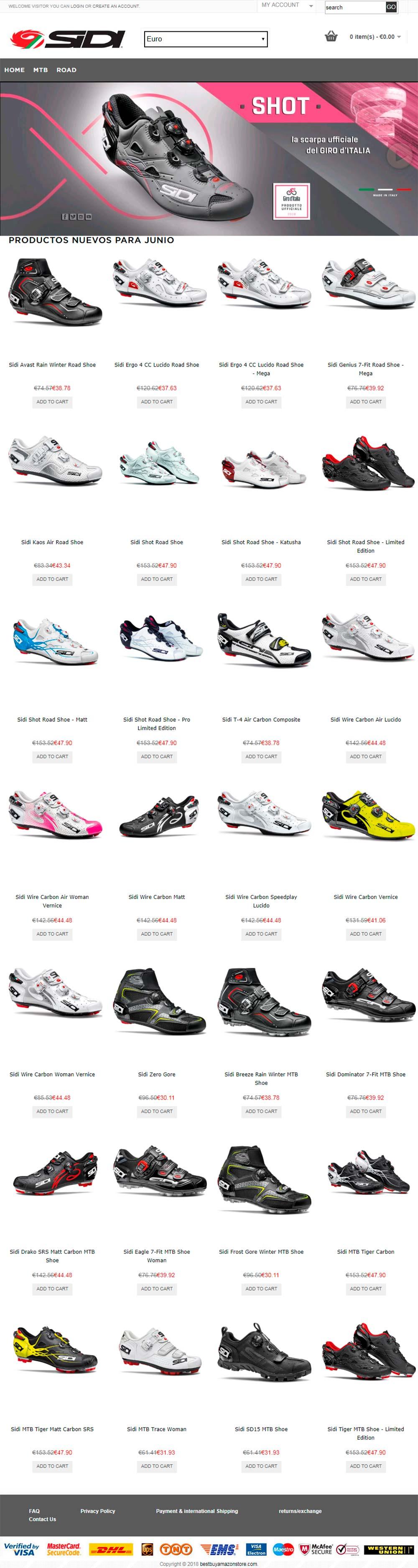 En TodoMountainBike: Sidi advierte a los consumidores de una estafa con sus zapatillas en varias tiendas online