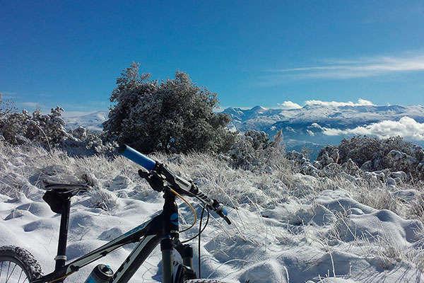 La foto del día en TodoMountainBike: 'Sierra de Huétor'