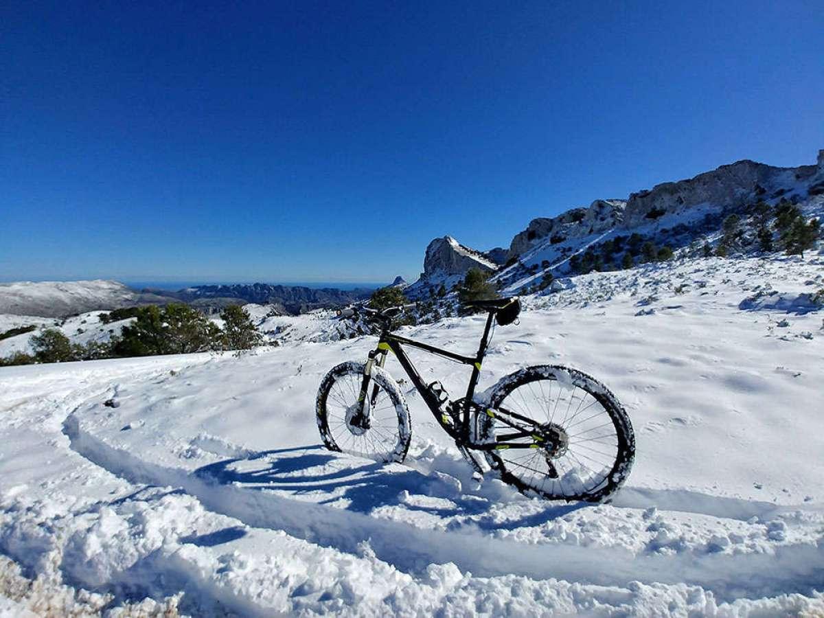 En TodoMountainBike: La foto del día en TodoMountainBike: 'Sierra de la Aixortà'