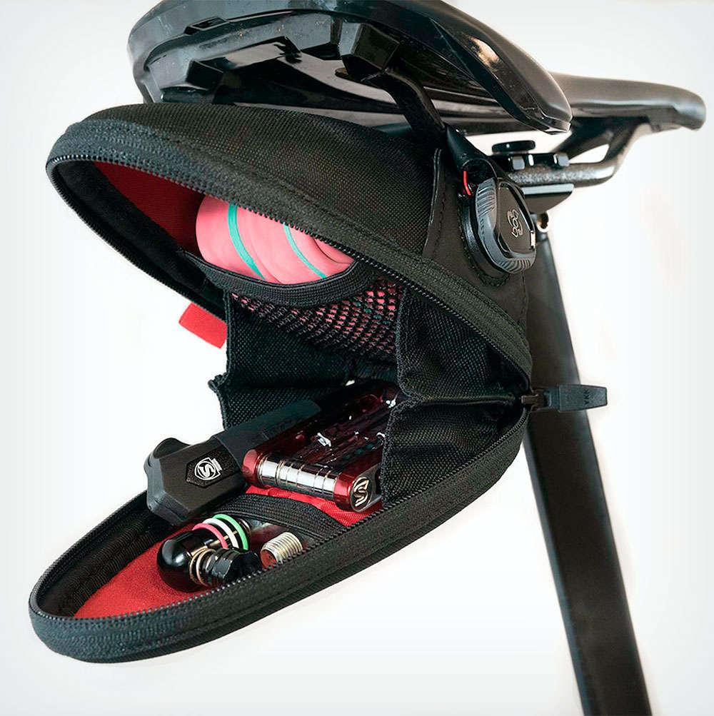En TodoMountainBike: Silca Seat Capsule Premio, la versión rígida de la bolsa de sillín con cierre BOA de la firma
