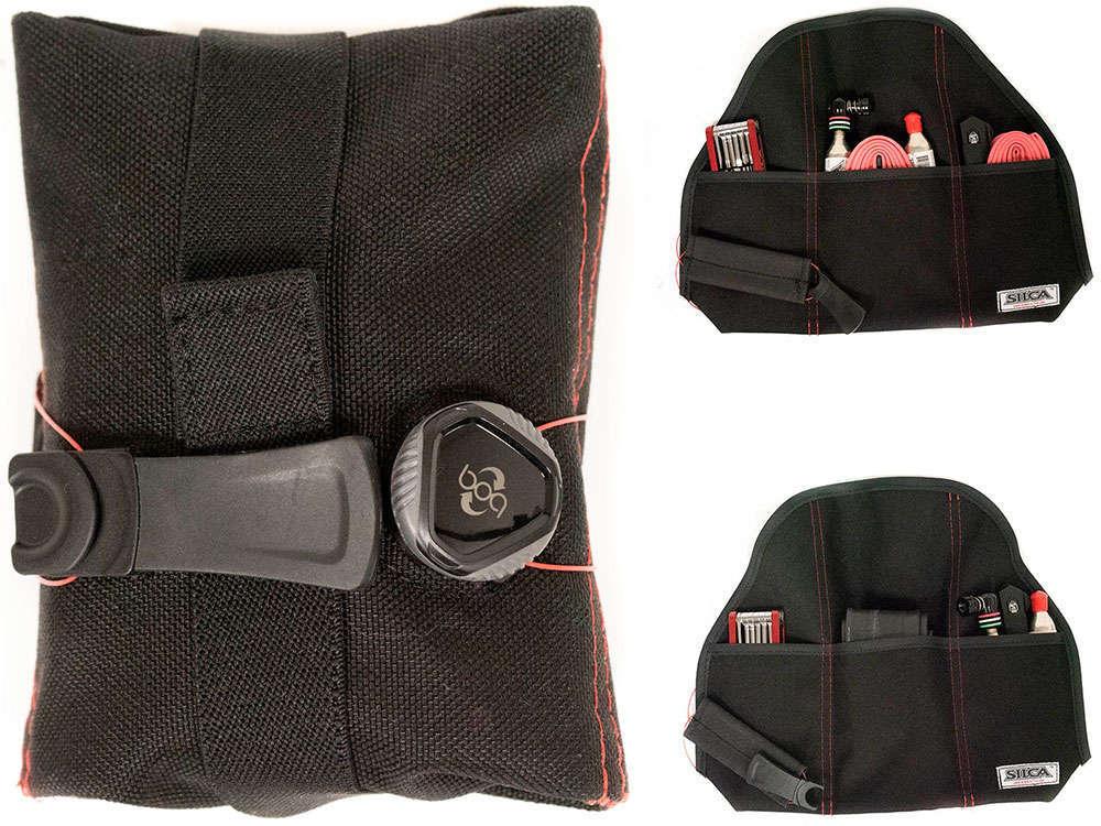 En TodoMountainBike: Silca Seat Roll Grande Americano, la versión XXL de la bolsa de sillín con cierre BOA de la firma