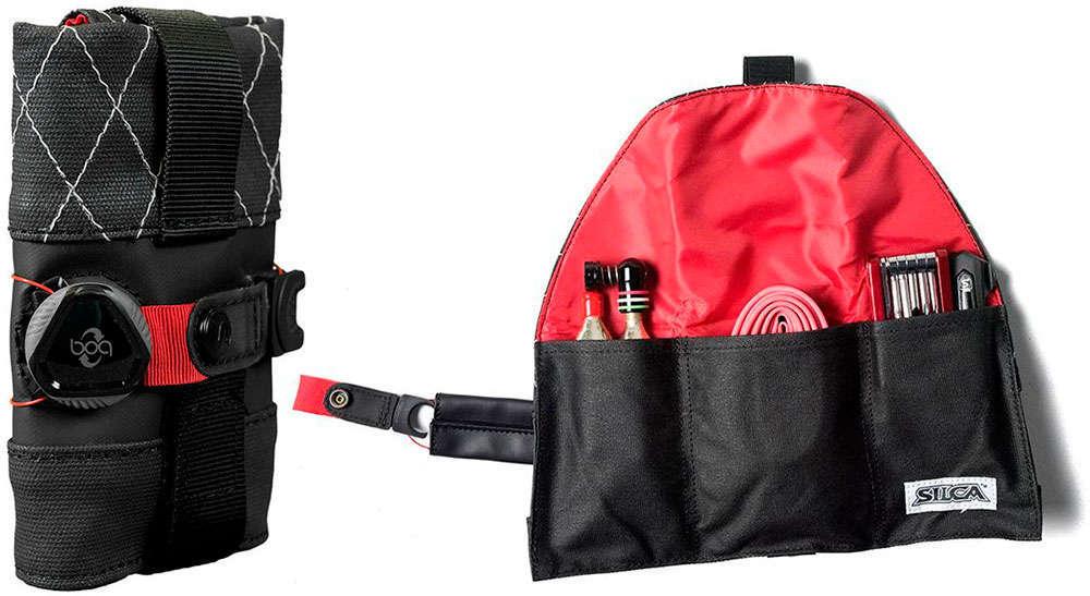 En TodoMountainBike: Silca Seat Roll Premio, la primera bolsa de sillín con sistema de cierre BOA