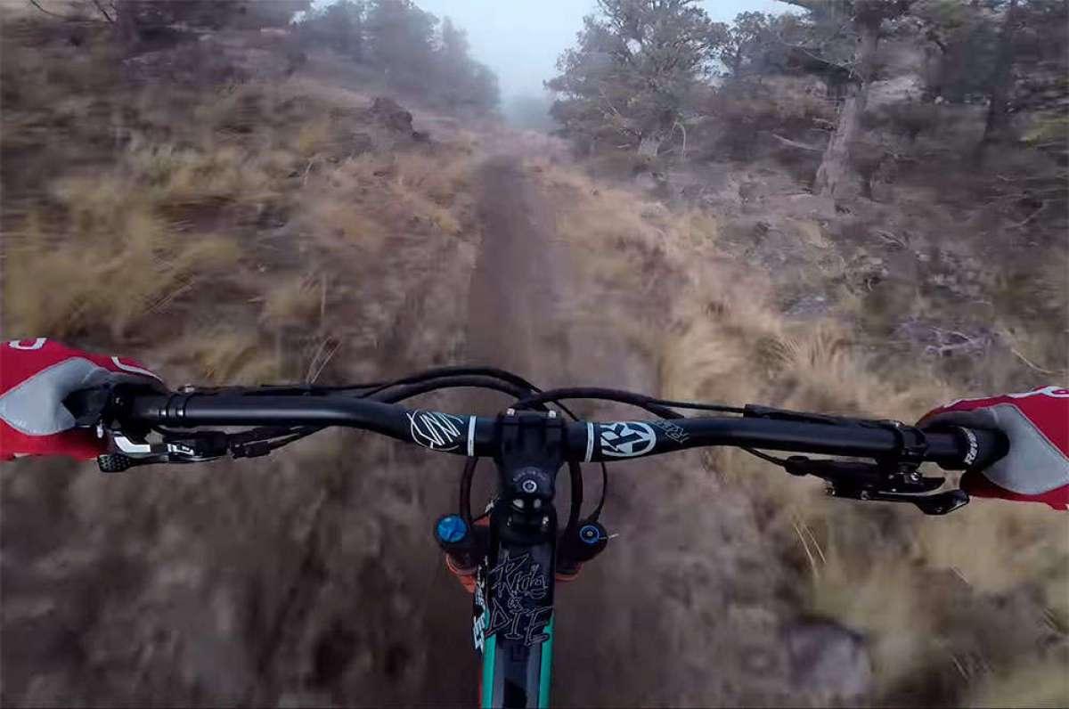 En TodoMountainBike: Rodando a toda velocidad por un sendero de Oregón (EUA) con Kyle Jameson y su Scott Genius