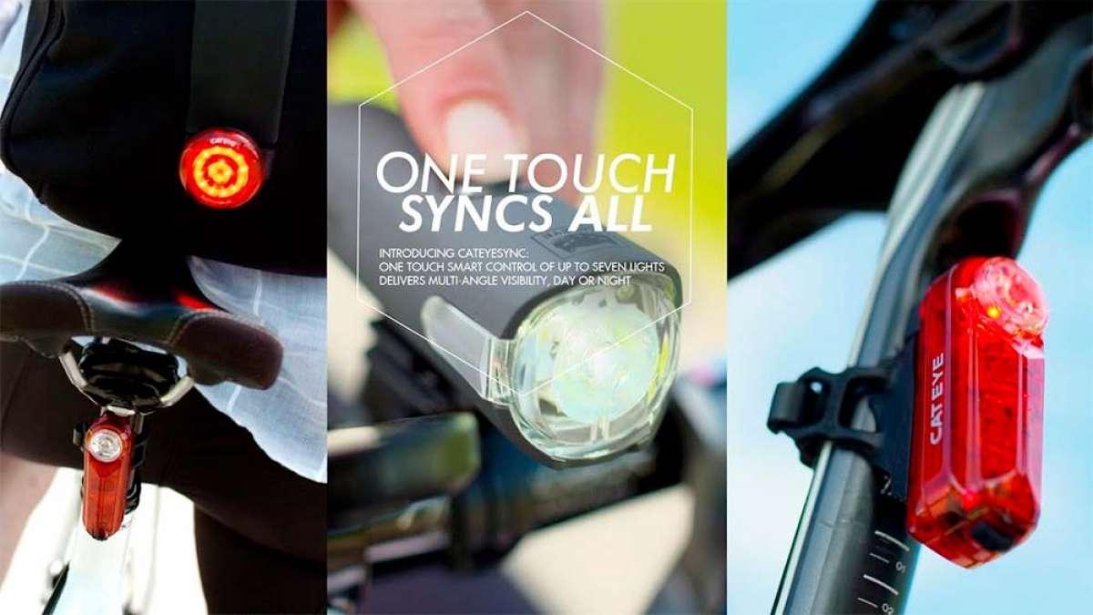 Luces para bicicletas que se sincronizan entre sí y funcionan como una sola: llega el sistema CatEye Sync