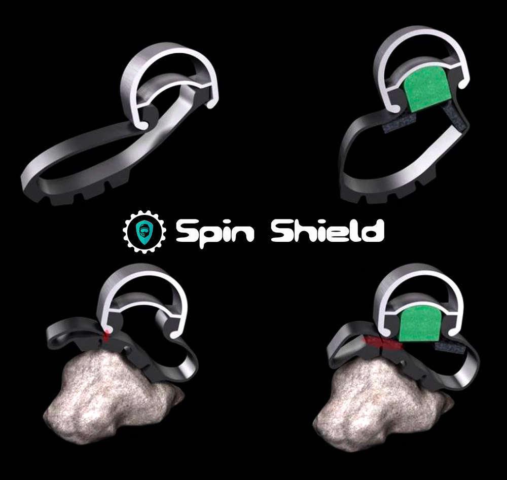 En TodoMountainBike: Spin Shield, un minimalista sistema antipinchazos que no interfiere en la sensación de conducción