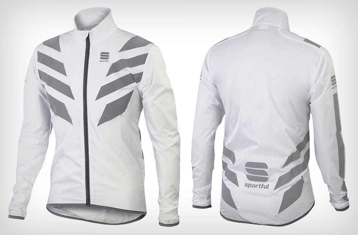 Sportful Reflex, una chaqueta cortaviento que además ofrece visibilidad a 360º