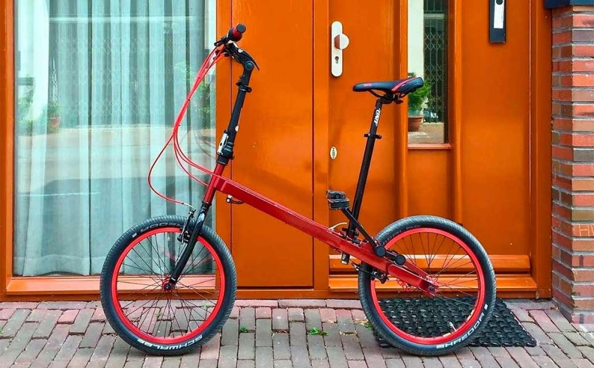 StepTwin Bike, un híbrido entre bicicleta plegable y máquina de step