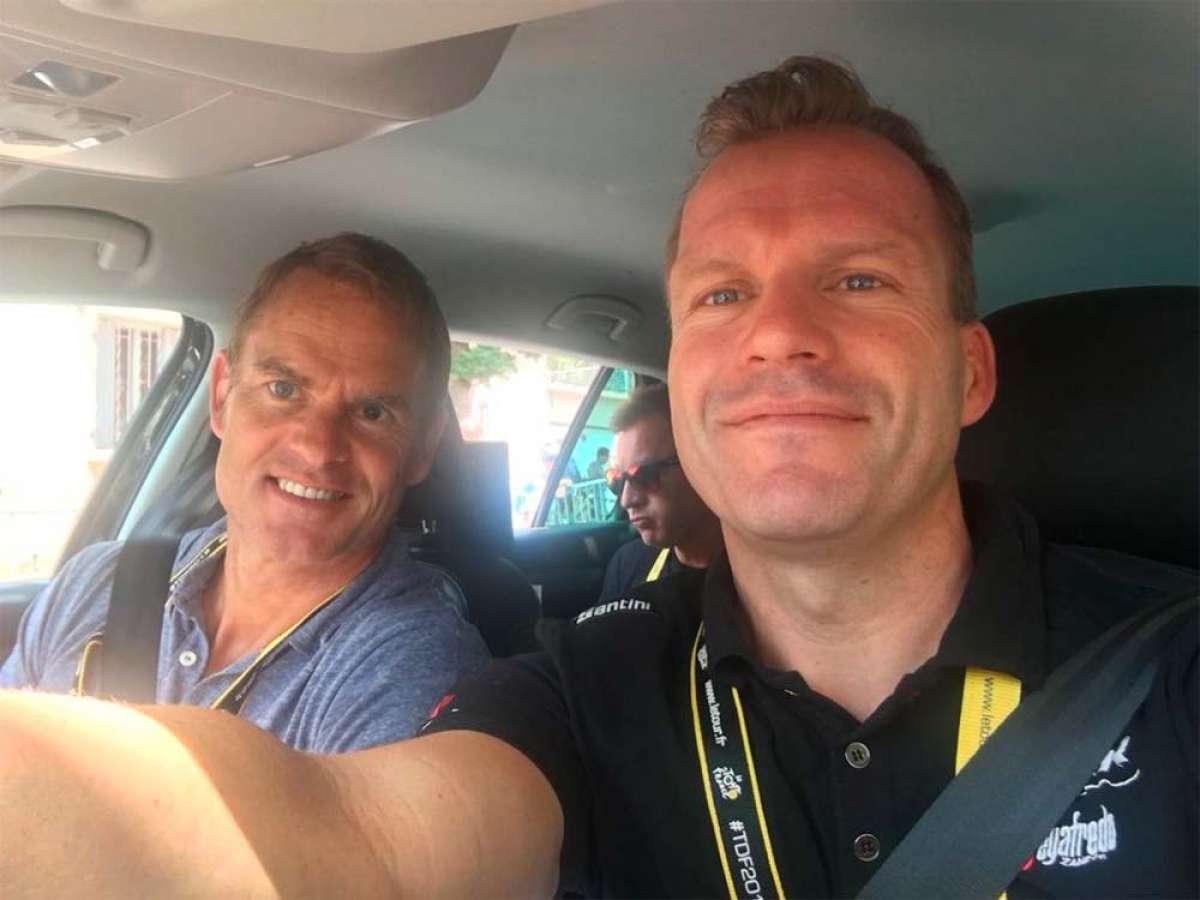 En TodoMountainBike: Encuentran inconsciente en una carretera de Girona a Steven De Jongh, director del Trek-Segafredo