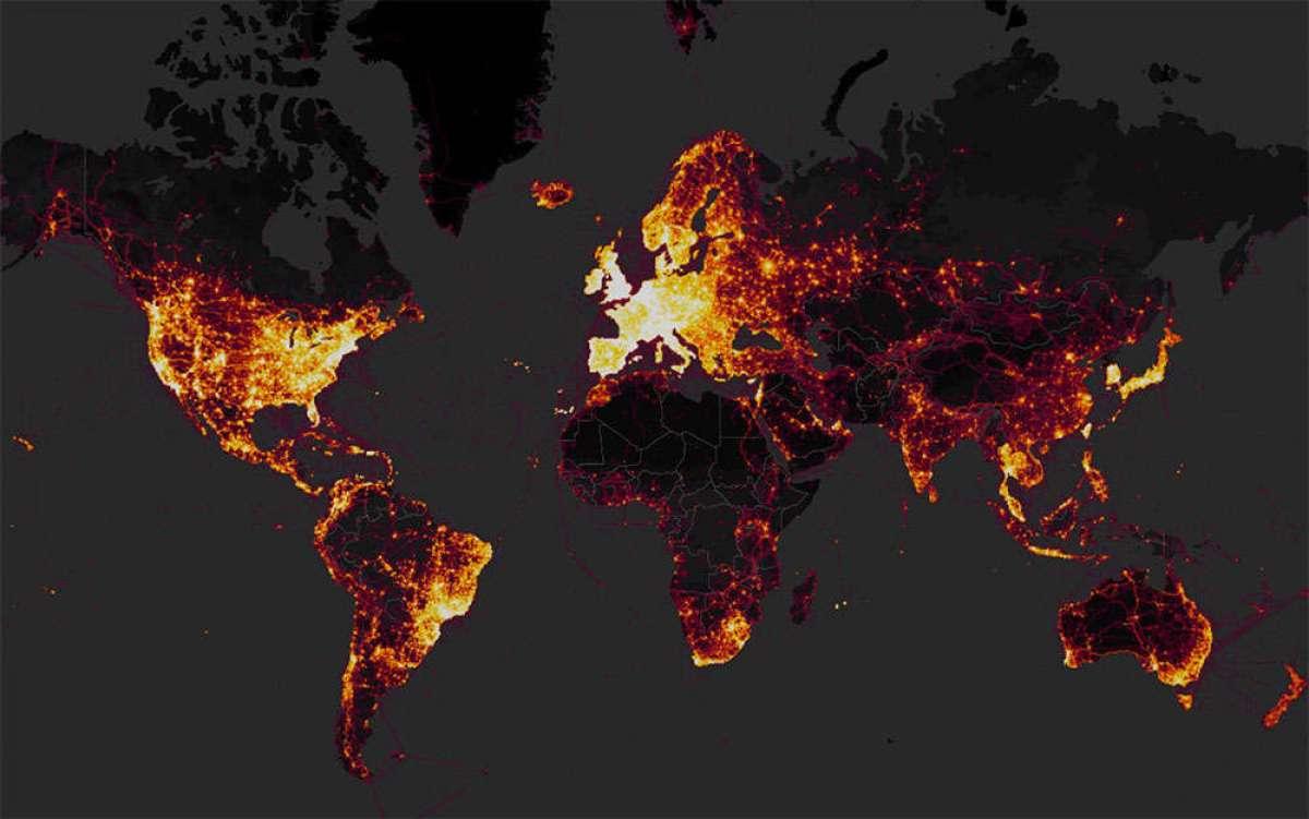 En TodoMountainBike: El mapa de calor de Strava revela la posición de bases militares secretas de Estados Unidos