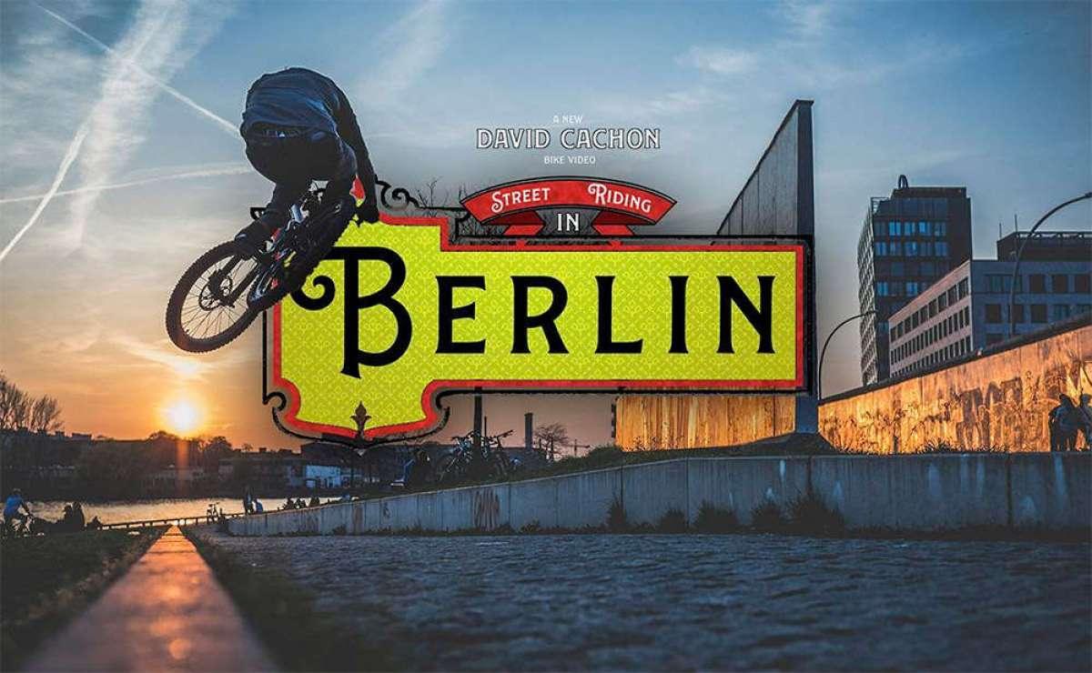 Ciclismo urbano en Berlín al estilo de David Cachon