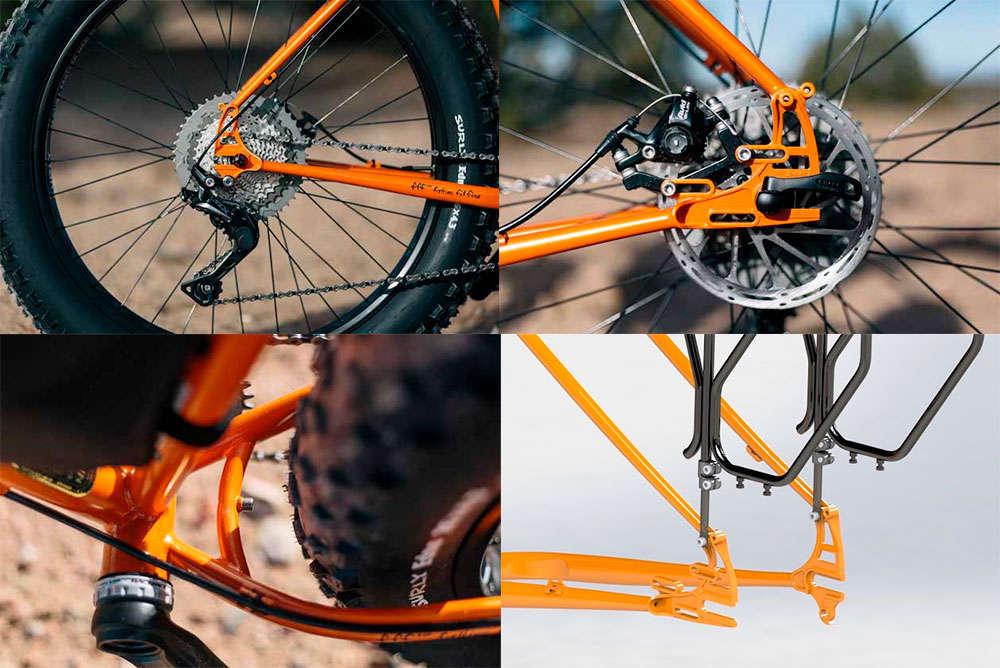 En TodoMountainBike: La icónica Surly Pugsley se renueva para 2018 con ruedas más gordas y mayor capacidad de carga