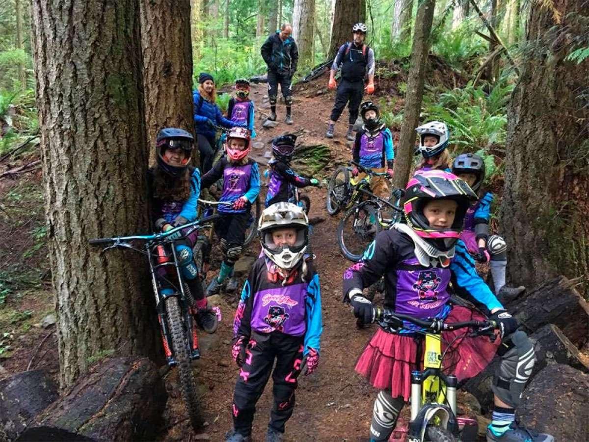 En TodoMountainBike: Así ruedan las integrantes (de 8 a 16 años) del Sweetlines Junior Racing Team