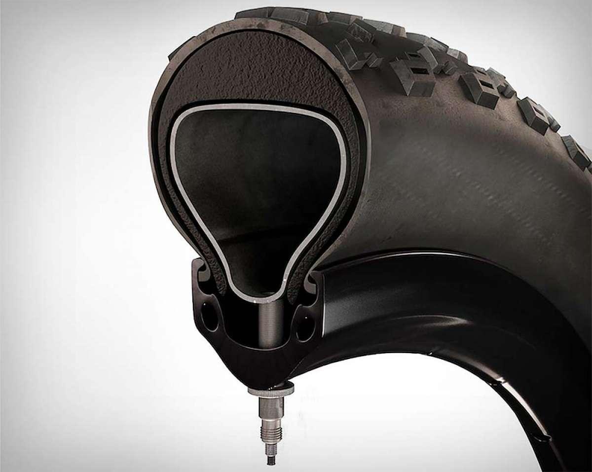 Tannus presenta su primer sistema 'mousse' antipinchazos para bicicletas: el Armour