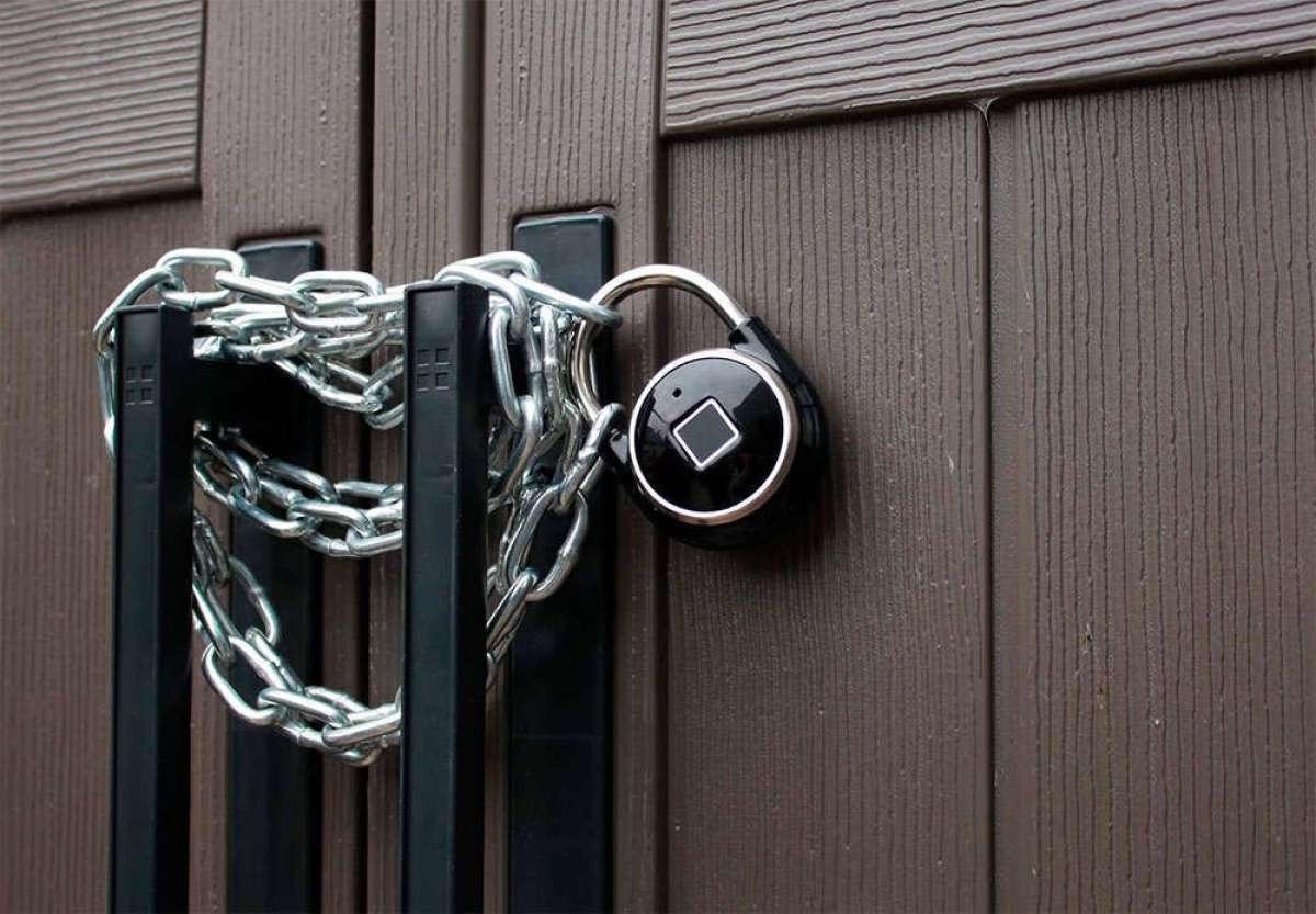 Tapplock one, un candado de seguridad con lector de huella dactilar para decir adiós a las llaves