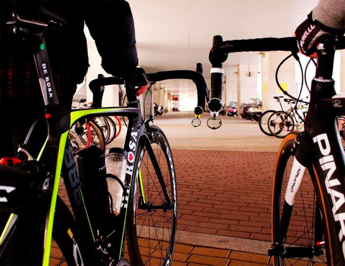 Corky, un espejo retrovisor de diseño minimalista para bicicletas de carretera y montaña