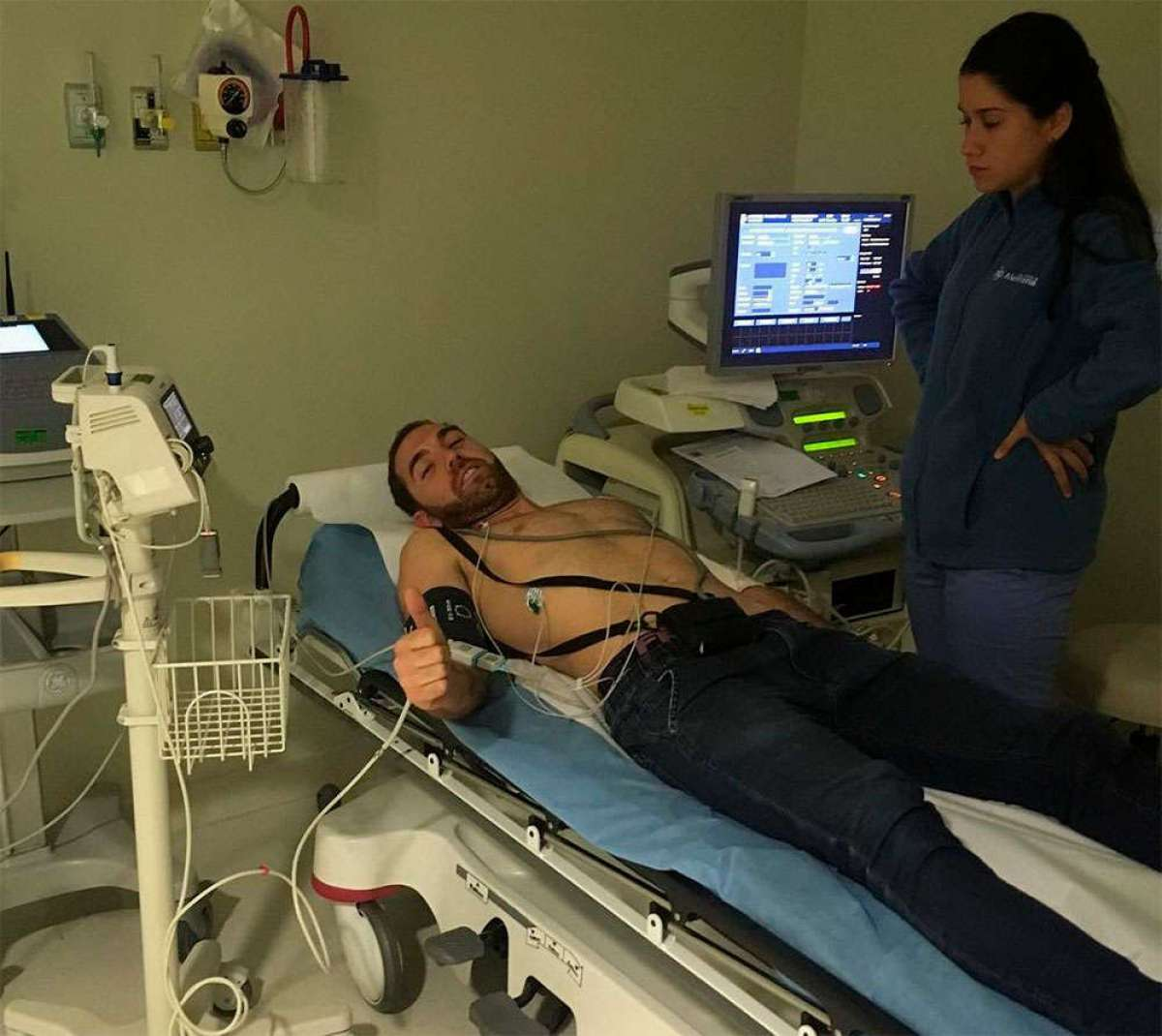 Thomas Lapeyrie, líder del recién estrenado Orbea Enduro Team, hospitalizado por problemas cardíacos