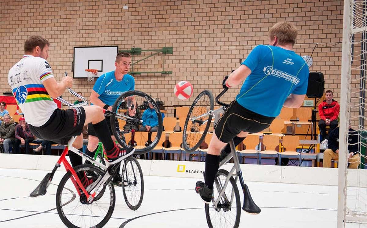 Tráiler promocional de la Copa del Mundo UCI Cycle-Ball 2018: fútbol sobre bicicletas