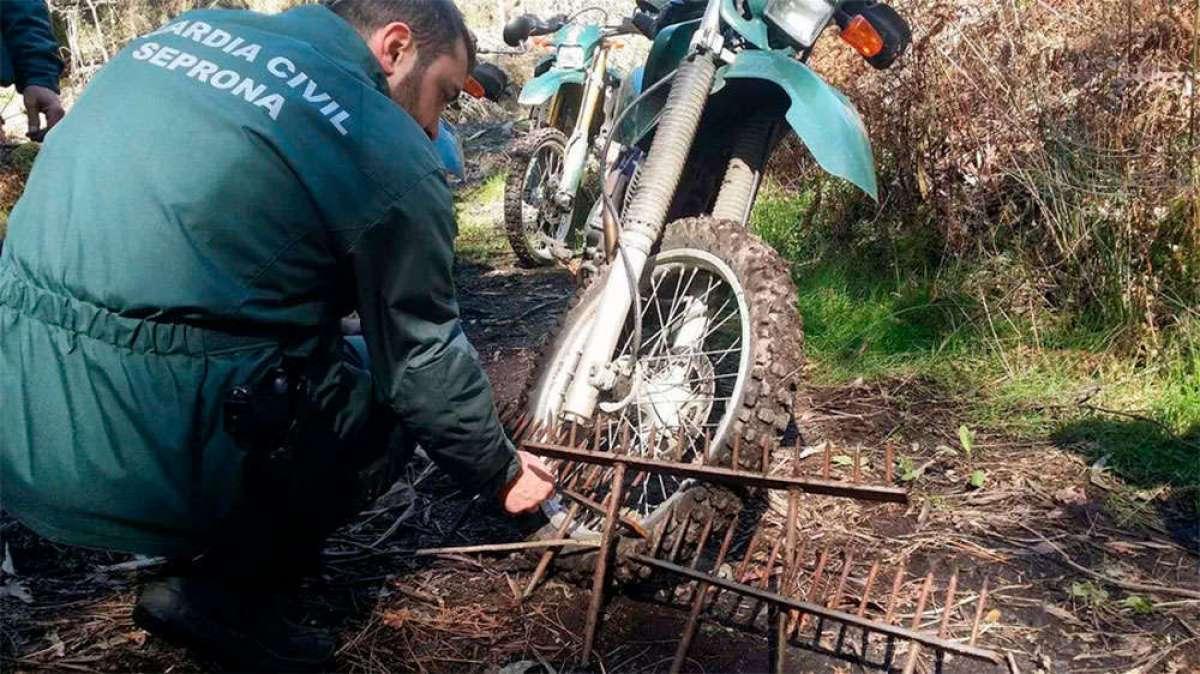 Alerta en Galicia: trampas para ciclistas en Gondomar (Pontevedra)