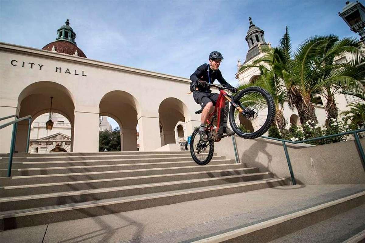 Descubriendo los senderos que rodean Los Ángeles con Hans Rey, Missy Giove y Tim Commerford (Día 2)