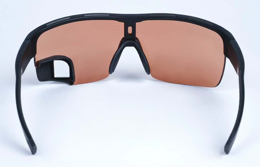 En TodoMountainBike: TriEye, las gafas de ciclismo con un espejo retrovisor integrado