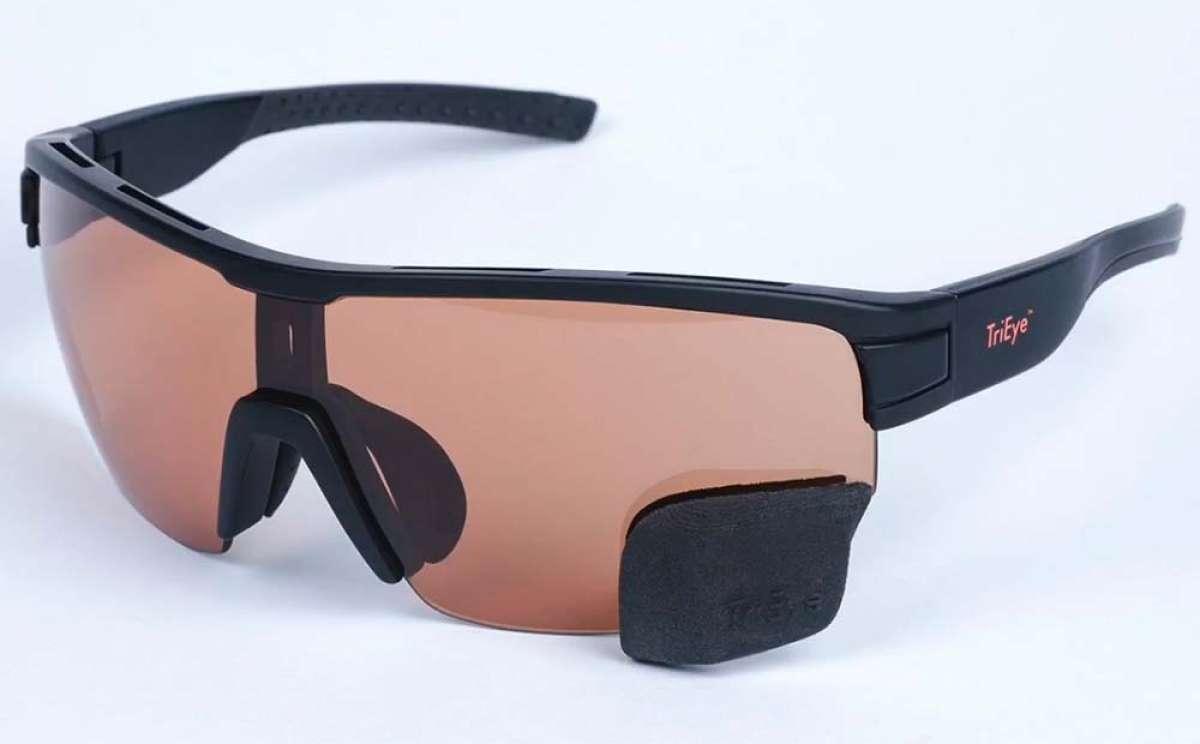 TriEye, las gafas de ciclismo con un espejo retrovisor integrado