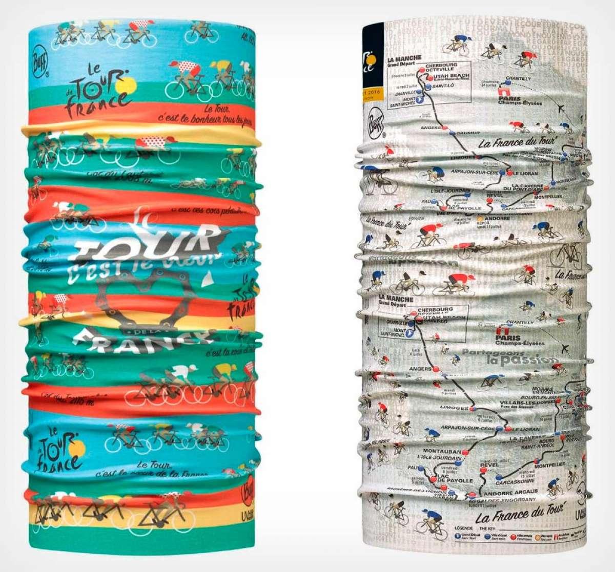 En TodoMountainBike: Dos estampados nuevos para los tubulares de Buff con motivo del Tour de Francia 2018