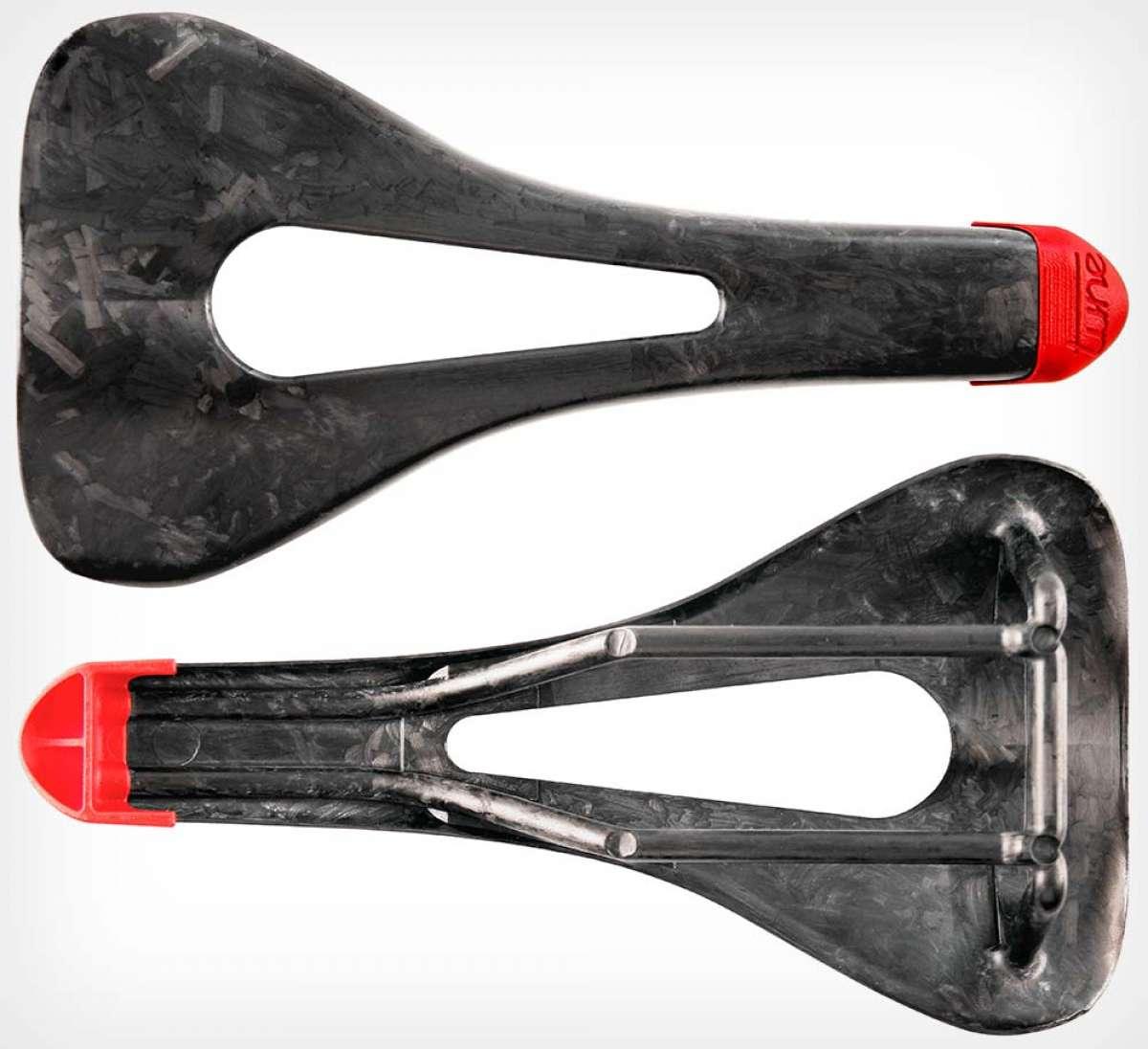 En TodoMountainBike: Tune presenta el Skyracer, un sillín de carbono de solo 69 gramos de peso