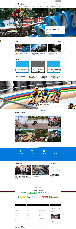 La UCI estrena sitio web y expande su estrategia digital hacia China