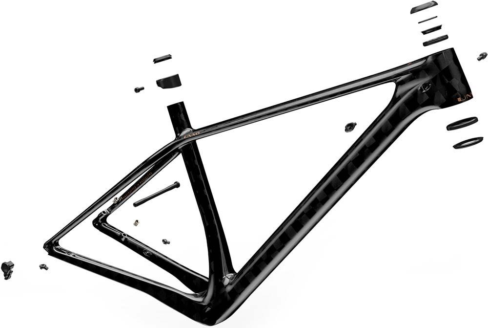 En TodoMountainBike: UNNO Aora, la rígida para XC/Maratón con el cuadro de carbono más ligero del mundo