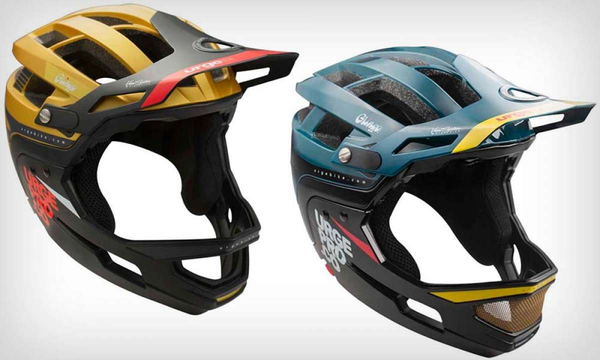 Urge Gringo, un agresivo casco de All Mountain con dos mentoneras desmontables a elegir