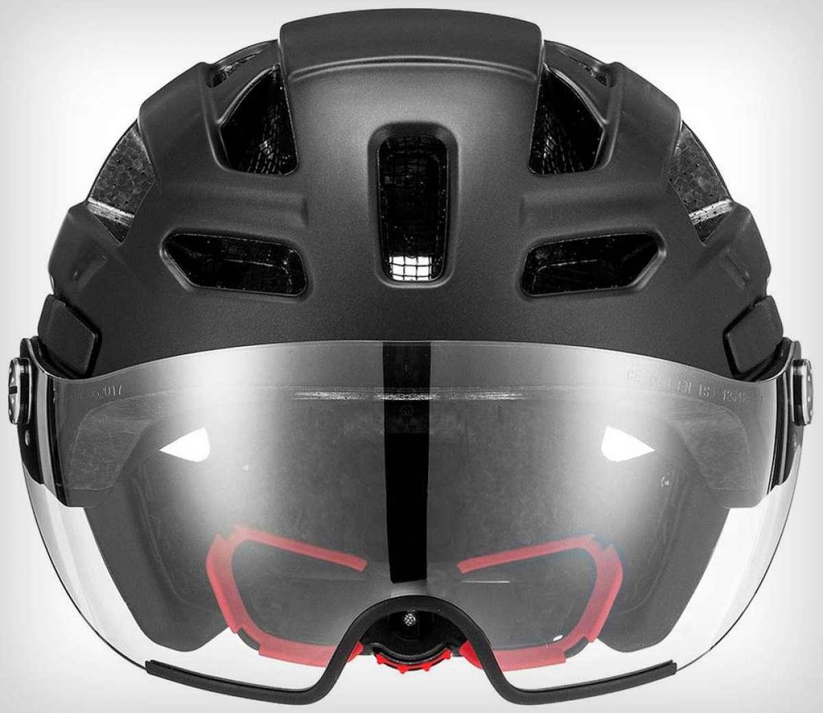Uvex Finale Visor, un interesante casco con visor integrado para pedalear por la ciudad
