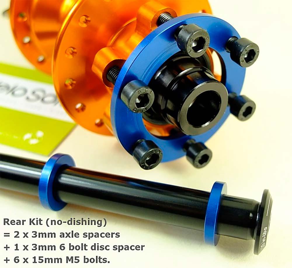 En TodoMountainBike: ¿Cómo montar unas ruedas no Boost en un cuadro y horquilla Boost? Con los adaptadores de VeloSolo