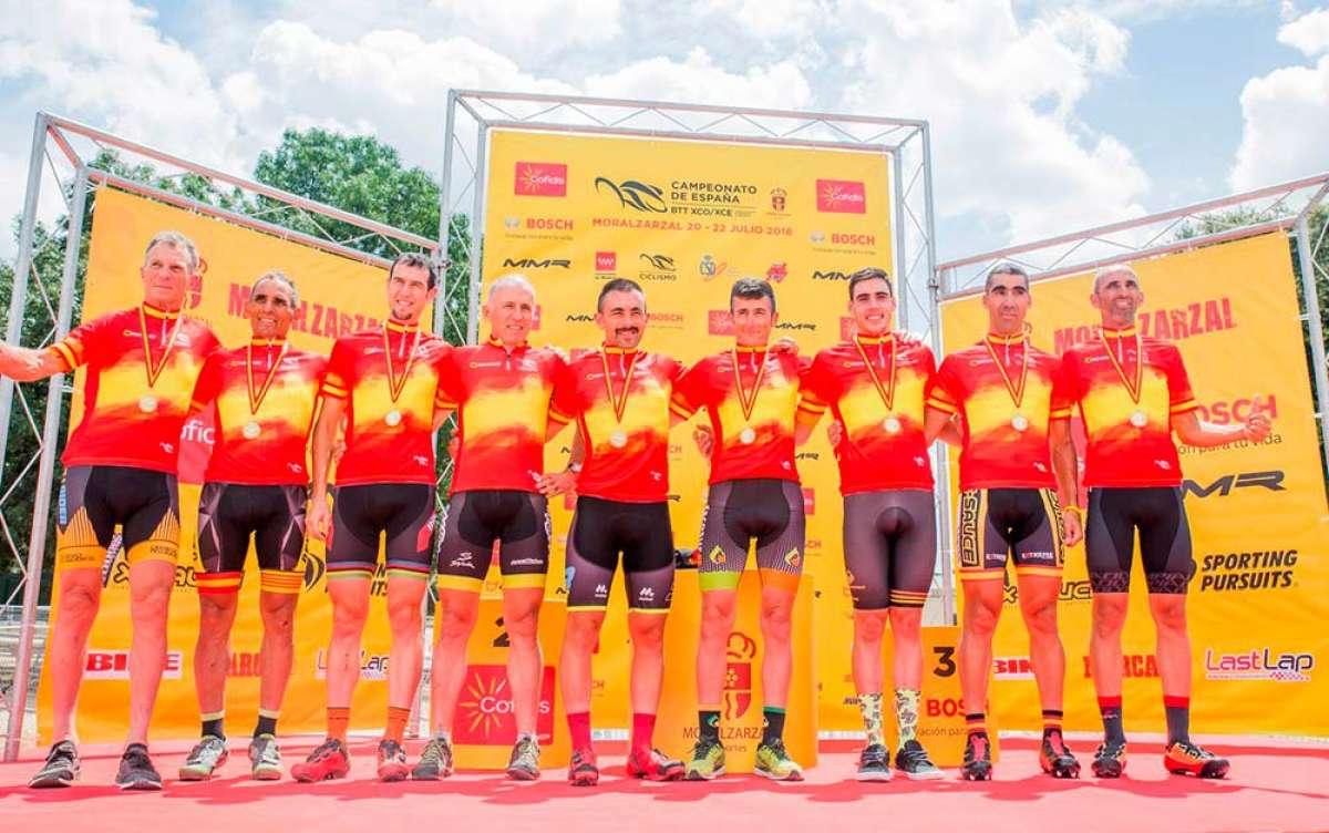 Campeonatos de España XCO-XCE-Team Relay 2018: todos los vencedores por categorías