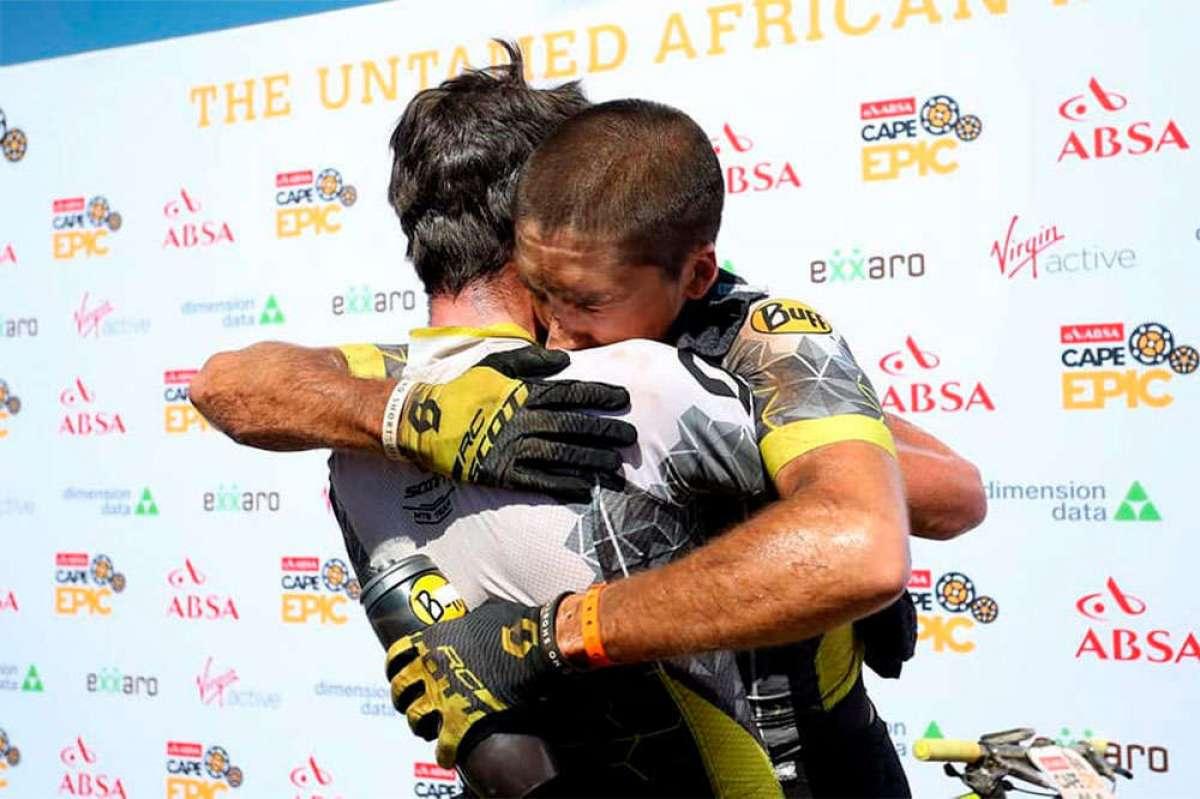 En TodoMountainBike: Resumen de la Absa Cape Epic 2018 con el Buff Scott MTB Team