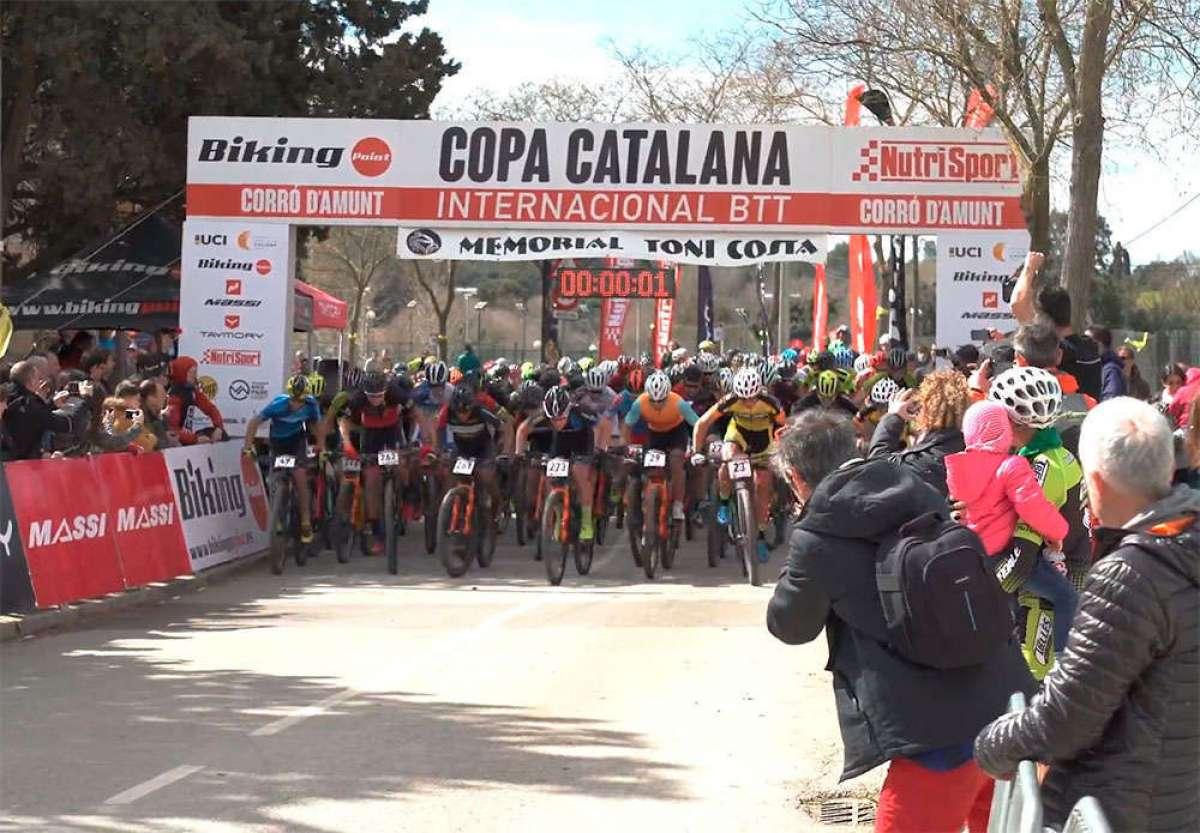 "Así fue la Copa Catalana Internacional BTT Biking Point 2018 de Corró d""Amunt"