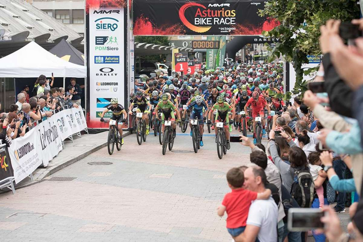 Los mejores momentos de la primera etapa de la MMR Asturias Bike Race 2018