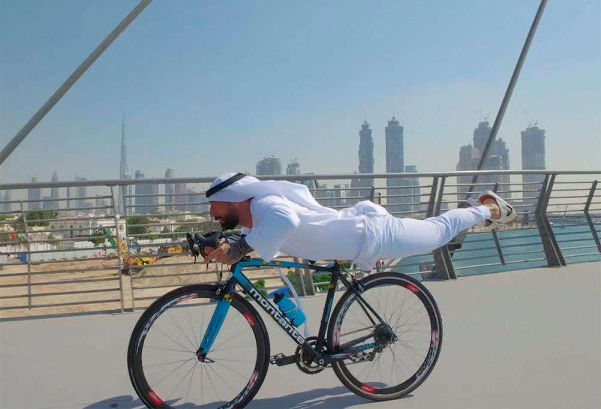 Rodando por la exclusiva ciudad de Dubái con Vittorio Brumotti