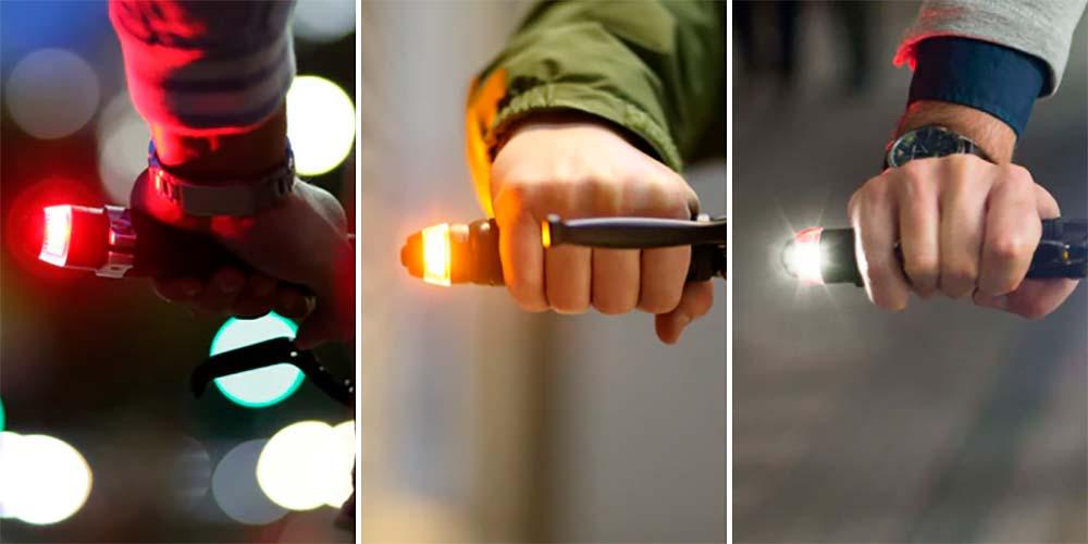 En TodoMountainBike: WingLights360, unas luces LED con funciones de seguridad integradas en los tapones del manillar